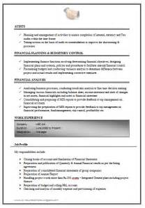 resume work experience format image over 10000 cv and resume sles with free download excellent work experience chartered