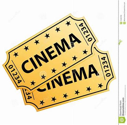 Cinema Tickets Clipart Boletos Kinokarten Cine Ticket
