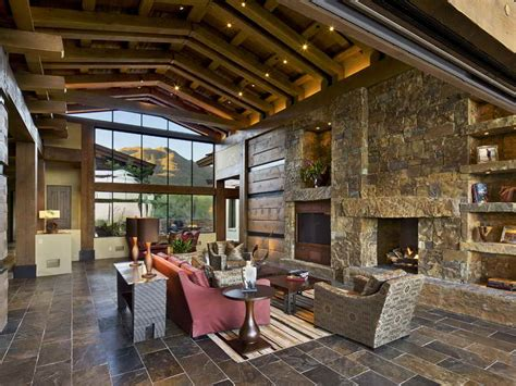 Contemporary Rustic Homes 2017