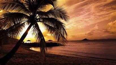 Beach Wallpapers 1080p Desktop Sunset Nature