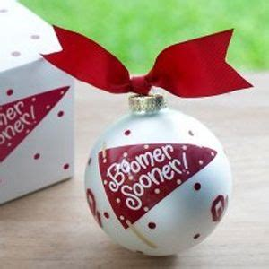 oklahoma state university christmas ornaments 26 best oklahoma sooners spirit images on