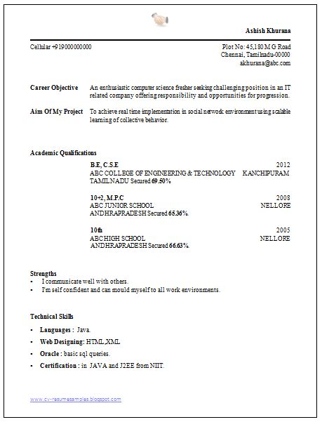 beautiful and simple resume template for all seekers