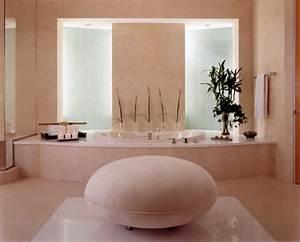 Objet Deco Zen : photo salle de bain zen id es pour une d coration relaxante ~ Teatrodelosmanantiales.com Idées de Décoration