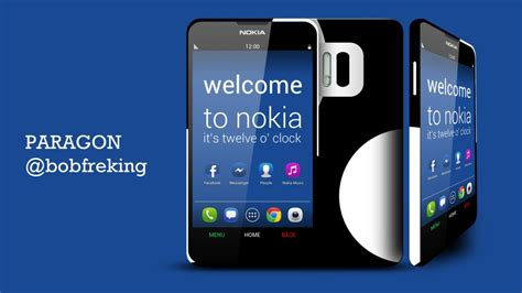 nokia android phone nokia paragon runs android with nokia ui offers 3 day