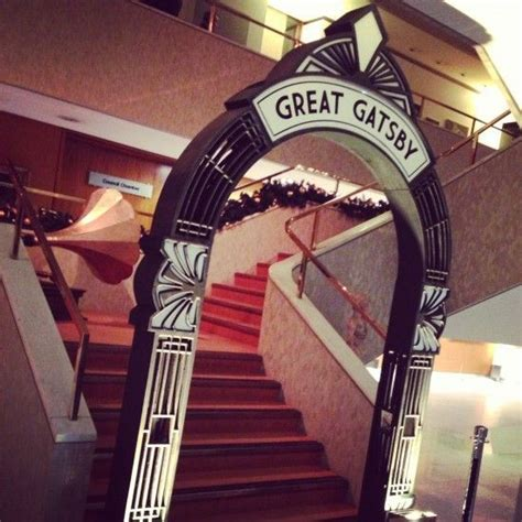art deco archway entrance event prop hire great gatsby