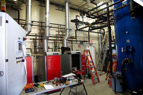 Biomass Heating System | Harvard Forest