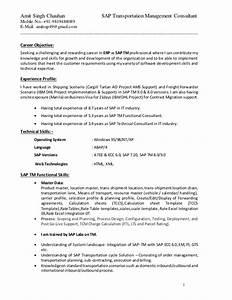 sap abap 3 years experience resume resume ideas With sample resume for sap abap 1 year of experience