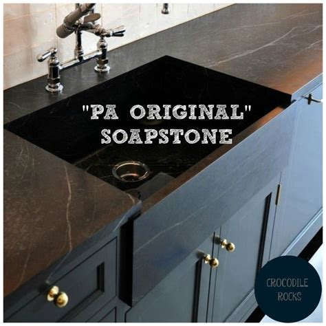 Pa Soapstone by Soapstone With Navy Blue Or Black Cabinets Homchick