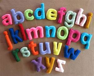 wall letters fabric alphabet nursery letters felt With making felt letters