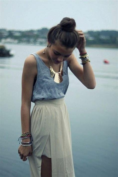 robe ée folle comment porter une jupe longue skirts