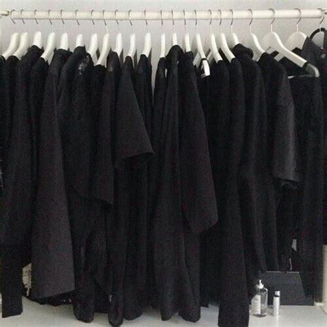 Black Clothes Wardrobe by 20 Things You Ll Relate To If You Way Many Black