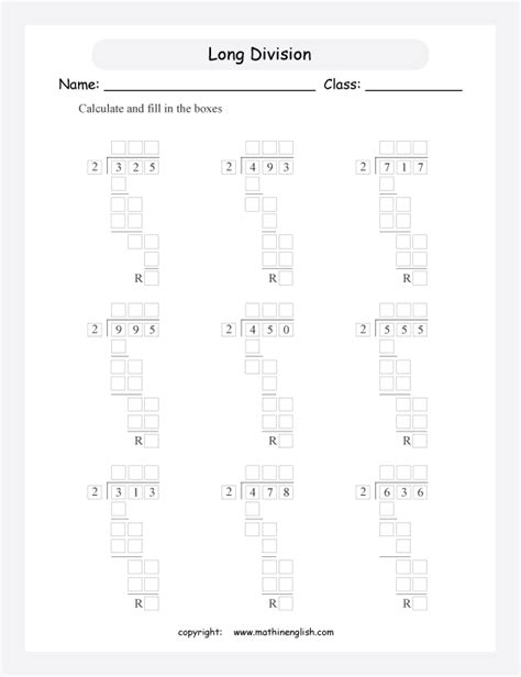 divide 3 digit numbers by 2 using the long division