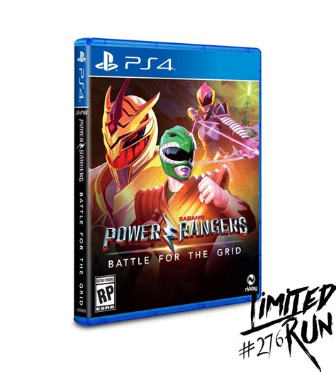 Limited Run #276: Power Rangers: Battle for the Grid (PS4 ...