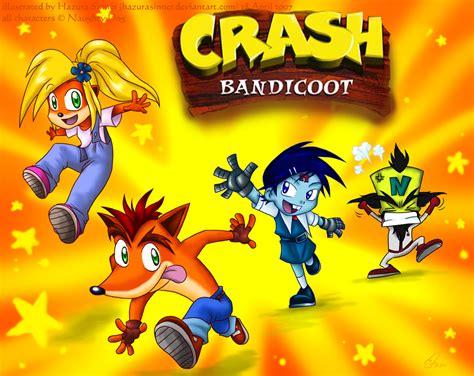 crash bandicoot fan game crash bandicoot tribute by hazurasinner on deviantart
