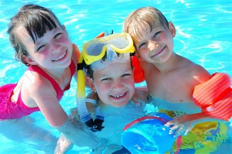 Swimming Pool Fun And Games For Children