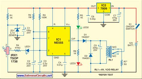 How Build Infrared Fire Cracker Igniter Circuit Diagram