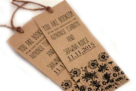 diy wedding favor bookmarks wedding favors bookmark wedding favors personalized custom preowned affordable coaster paper