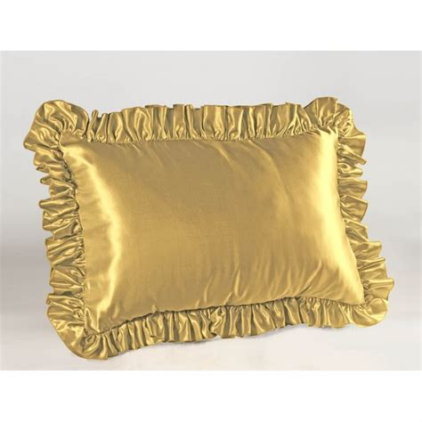 decorative pillow sets clearance satin ruffled pillow sham shopbedding com