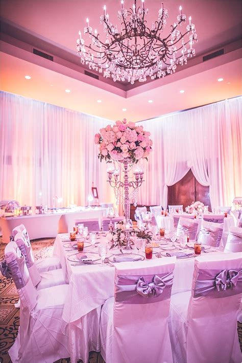 blush ivory silver wedding  omni houston hotel
