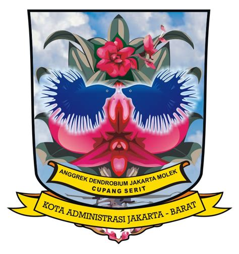 logovectorcdr logo kota administrasi jakarta barat
