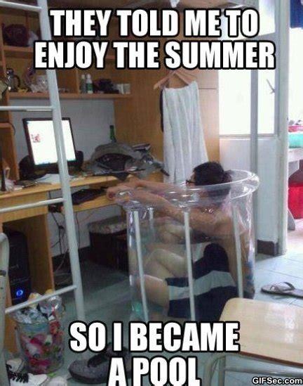 Funny Summer Memes - nerd summer jpg