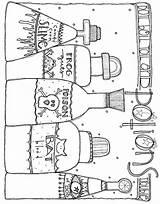 Potions Halloween Corn Coloring Colouring Printable Candy Slime Sheets Diagram Lindsay Ostrom Ak0 Drankjes Heksen Kleurplaten sketch template