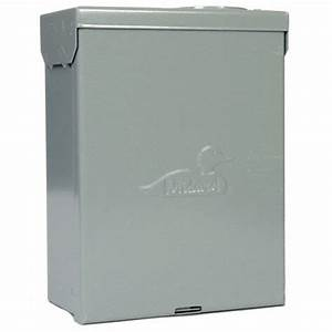Ge Spa Panel Hard Wired Gfci  60 A  1 Phase  Voltage 120