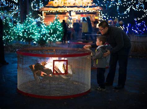 festival of lights at the zoo garfield tower