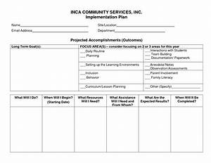 best photos of business implementation plan template With implementation approach template