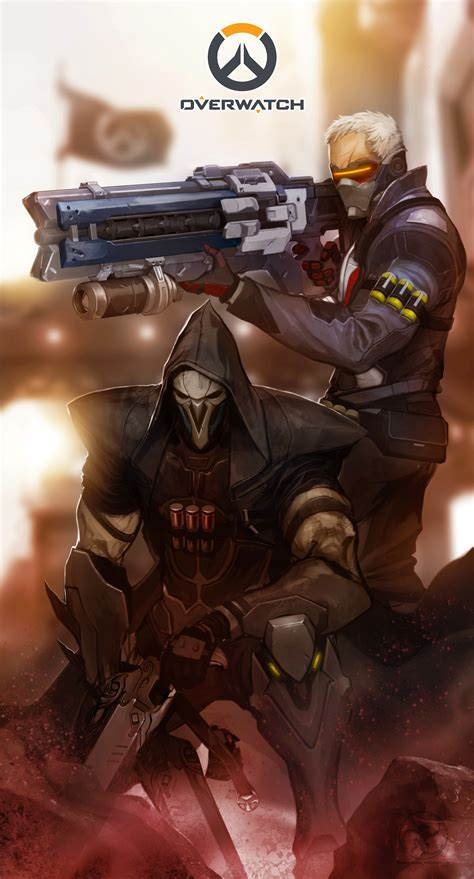 bloodshot  soldier   reaper overwatch battles