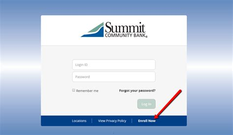summit community bank  banking login cc bank