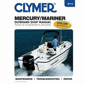 Clymer Repair Manual For Mercury  Mariner 4