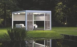 Abris De Jardin Auvergne : abri de jardin pergola bioclimatique camargue de renson ~ Premium-room.com Idées de Décoration