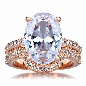 wedding sets cz wedding sets rose gold With rose gold wedding ring set