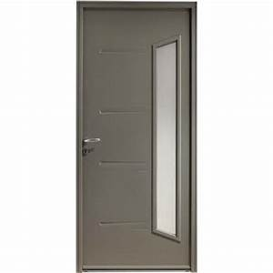 Tringle Porte D Entrée : portes d 39 entr e en acier ~ Premium-room.com Idées de Décoration