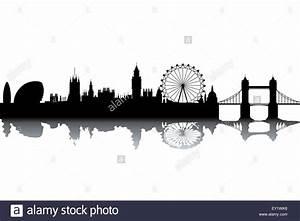 London Skyline Schwarz Weiß : london skyline schwarz wei vektor illustration vektor abbildung bild 85479274 alamy ~ Watch28wear.com Haus und Dekorationen