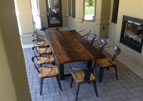 incredbile reclaimed wood dining tables