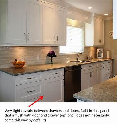 Kitchen Cabinets Shaker Cabinet Frameless Cupboards Countertops