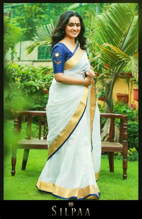 kerala saree graceful pinterest kerala saree