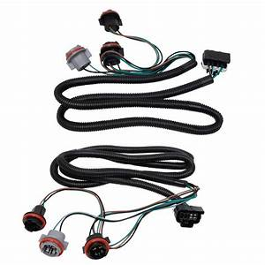 Tail Light Lamp Wiring Harness Lh Rh Pair For Chevy