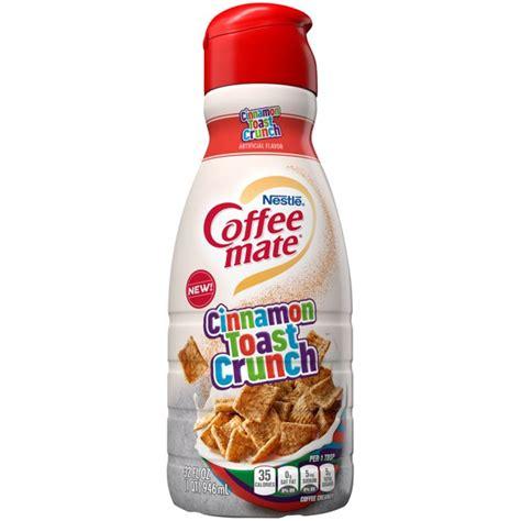 Последние твиты от coffee mate (@coffeemate). Nestle Coffee mate Cinnamon Toast Crunch Liquid Coffee Creamer 32 fl oz. - Walmart.com - Walmart.com
