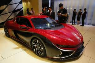 china propels rise  electric ultra high performance cars