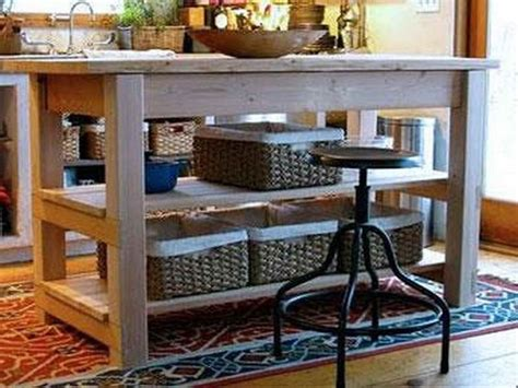 diy portable kitchen island plans woodworking projects