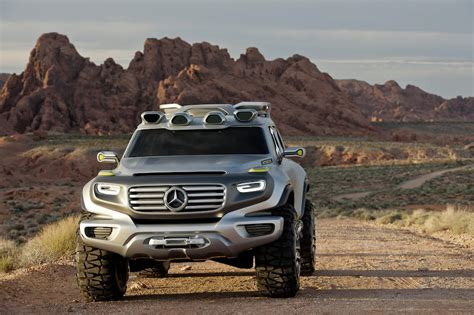 The Mercedes-benz Ener-g-force Concept
