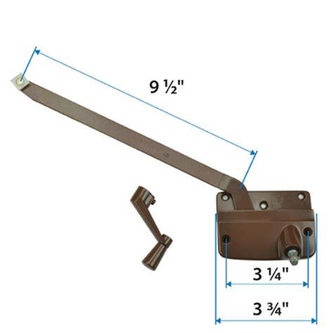 bronze long arm operator andersen windows doors andersen primed wood casement