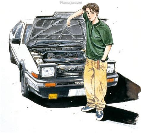 Initial D No.05 Takumi Fujiwara 86 TRUENO vol. 1 ver