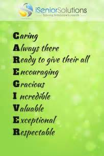 Caregiver Quotes and Sayings