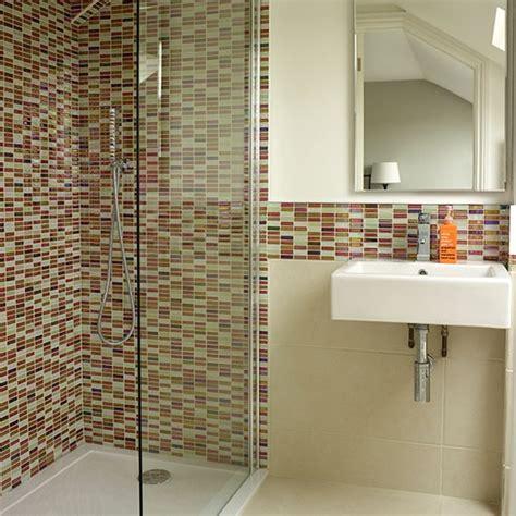 bathroom mosaic ideas white bathroom with mosaic tiles decorating