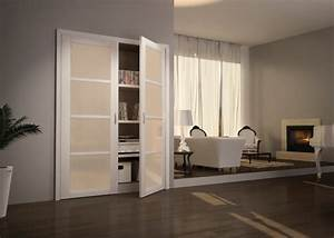 Porte De Placard Pivotante : portes de placard battantes ou pivotantes la simplicit ~ Farleysfitness.com Idées de Décoration