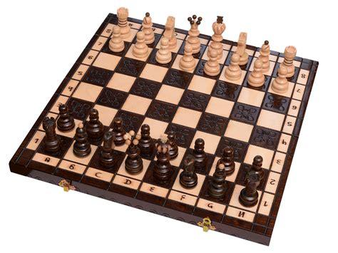 Schachbrett Holz Edel by Schachspiel Aus Holz Figuren Schachbrett Edel